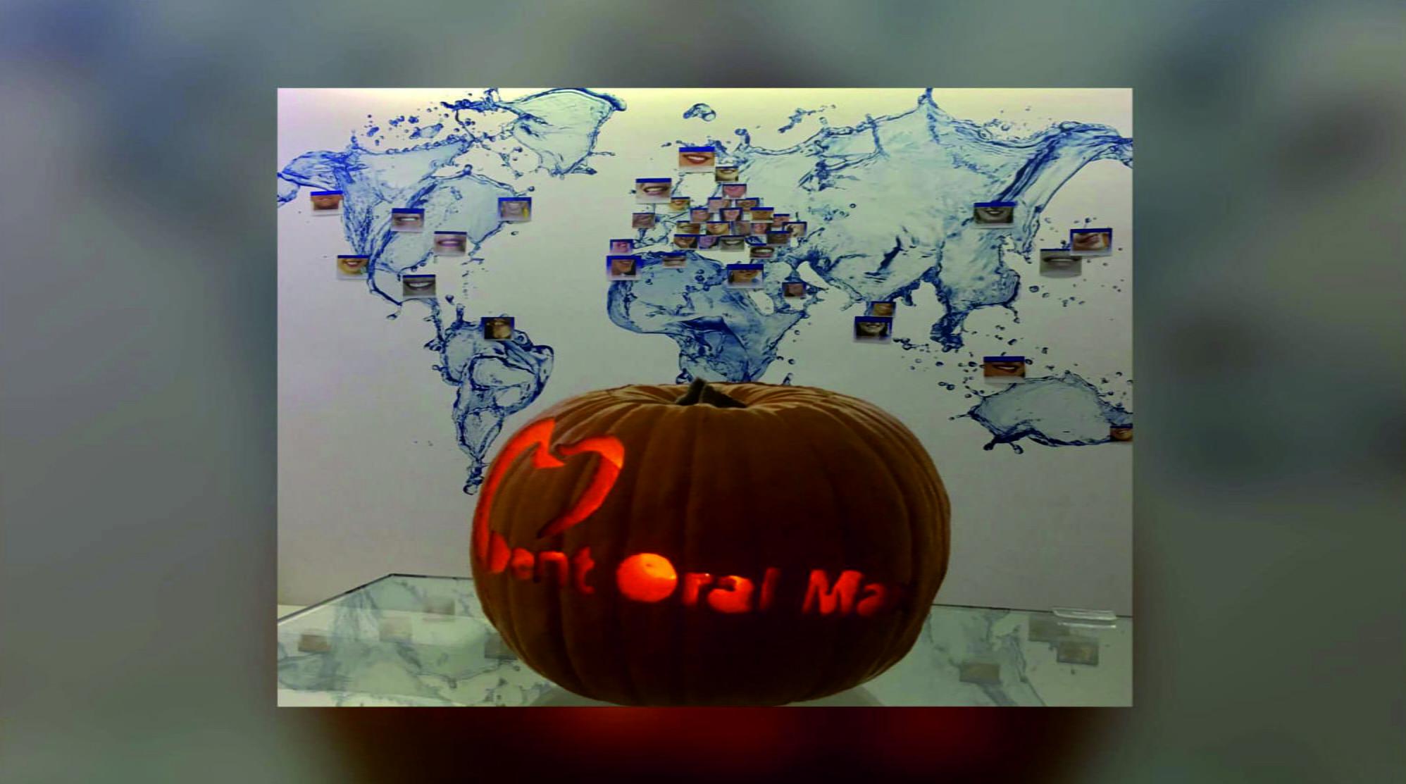 Halloween dovleac pe harta 2