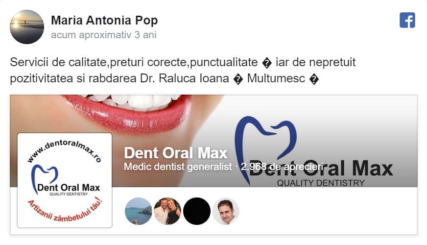 Recenzie Maria Antonia Pop