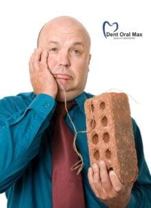 Stomatologia - pacient suferind